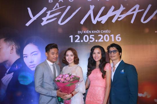 Minh Hằng, Quý Bình và vợ chồng BB Phạm