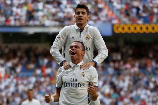 Đội hình Real Madrid đang được xoay vòng tốt ngay từ đầu mùaẢnh: REUTERS
