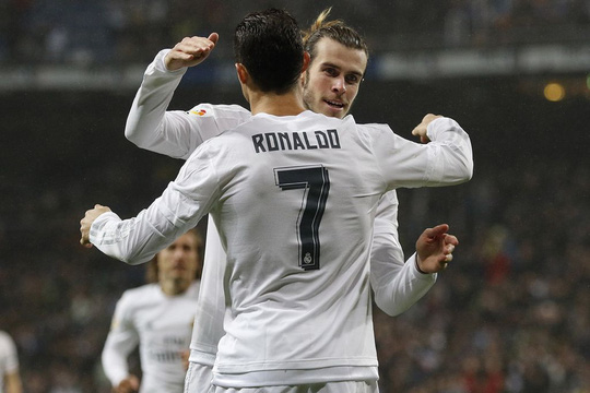 """""""Song sát"""" Bale và Ronaldo được kỳ vọng sẽ nhiều lần giúp Real Madrid phá lưới Ảnh: REUTERS"""
