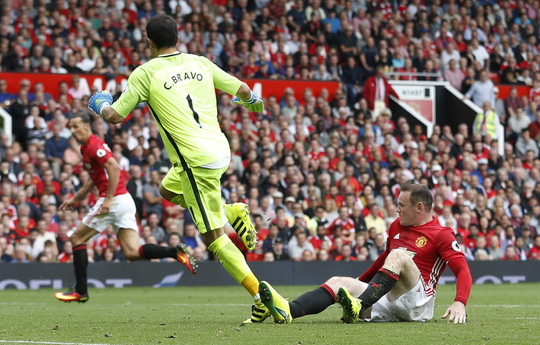 Rooney cần lấy lại uy danh sau những màn trình diễn nhạt nhòa gần đâyẢnh: REUTERS