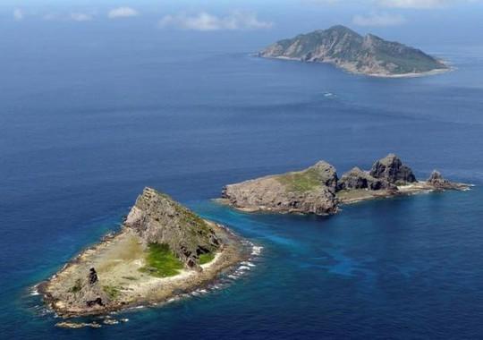 Nhóm đảo trong quần đảo tranh chấp Senkaku/ Ngư Điếu. Ảnh: Reuters
