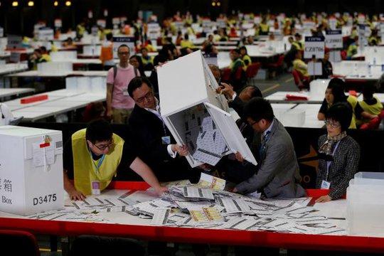 Cuộc bầu cử hôm 4-9 thu hút lượng cử tri kỷ lục. Ảnh: Reuters