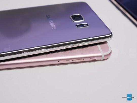 "Galaxy Note 7 có khiến iPhone 6S Plus ""lỗi thời"""
