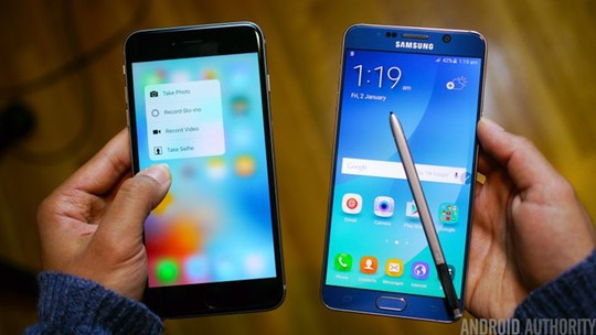 Đây cũng là động thái để Samsung nâng cao vị thế dòng Note trước Apple. Ảnh: Android Authority.