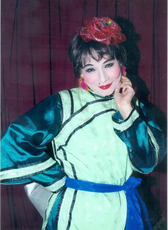NS Bo Bo Hoàng với vai cô Cám (vở Tấm Cám)