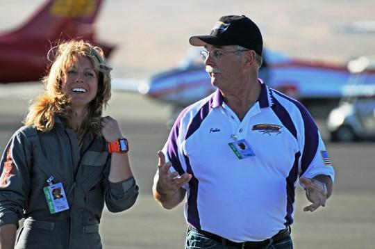 Nữ phi công Heather Penny tiết lộ cô sẵn sàng trong sự kiện 11-9. Ảnh: Washington Post
