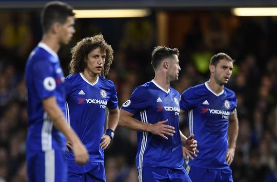 Các cầu thủ phòng ngự Chelsea chơi dở đều trận thua Liverpool