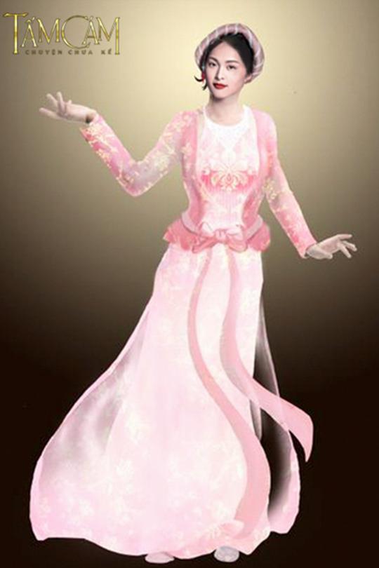 Phác thảo trang phục cho Tấm