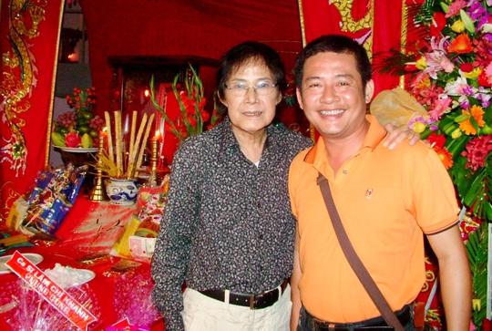 Nghệ sĩ Tấn Beo và cha- Nghệ sĩ Tấn Tài