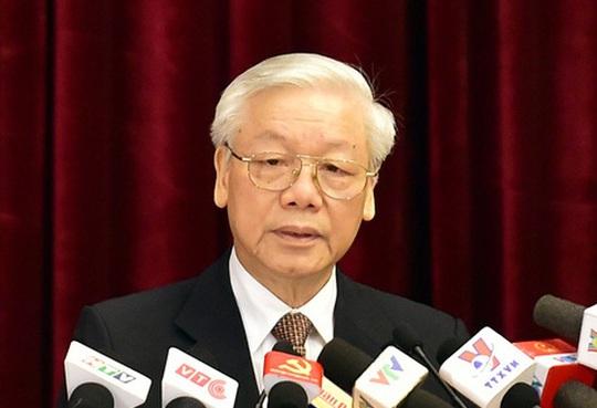 Tổng Bí thư Nguyễn Phú Trọng chỉ đạo tiếp tục kiểm tra khi có dấu hiệu vi phạm đối với Ban cán sự đảng Bộ Công Thương nhiệm kỳ 2010-2015 và ông Vũ Huy Hoàng, nguyên Bộ trưởng Bộ Công Thương