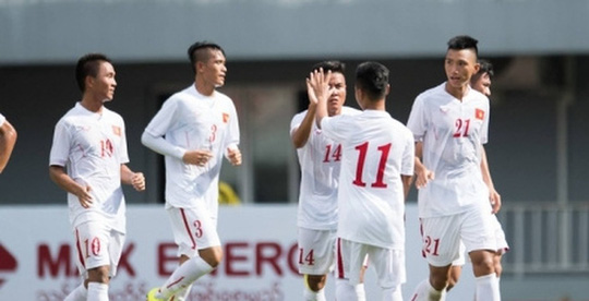 U19 Việt Nam xuất sắc đánh bại đội trẻ của Guangzhou Evergrande, đội bóng mạnh nhất Trung Quốc