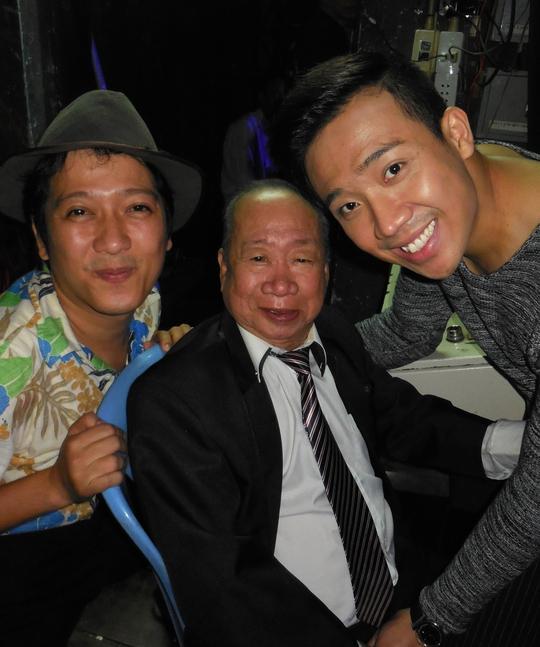 NS Trường Giang, Trấn Thành kính trọng danh hài Tùng Lâm, luôn gọi ông là bố