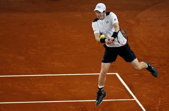 Murray đang có phong độ tốt ở Madrid Open 2016.Ảnh: REUTERS