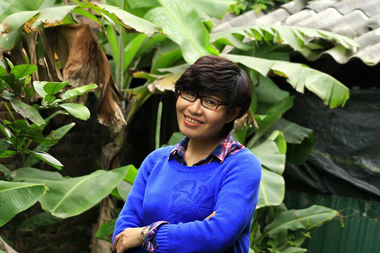 Nhà báo Thu Trang - Ảnh trên Facebook của nữ nhà báo