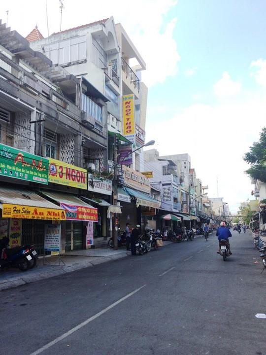 Tiệm vàng Ngọc Thảo, nơi xảy ra vụ người lạ vào đâm chủ tiệm