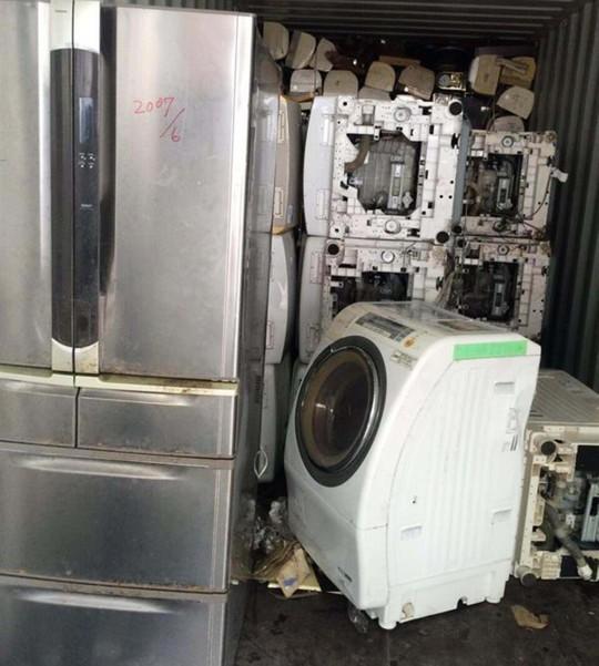 Nhiều máy giặt, tủ lạnh, máy lọc không khí... đã qua sử dụng