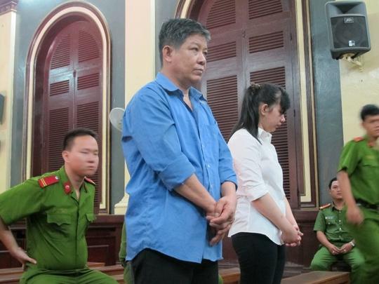 Các bị cáo trong phiên xử sơ thẩm