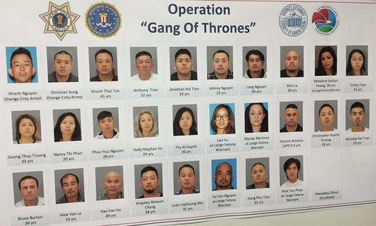 Hình ảnh những nghi phạm gốc Việt được công bố hôm 24-8Ảnh: Mercury News