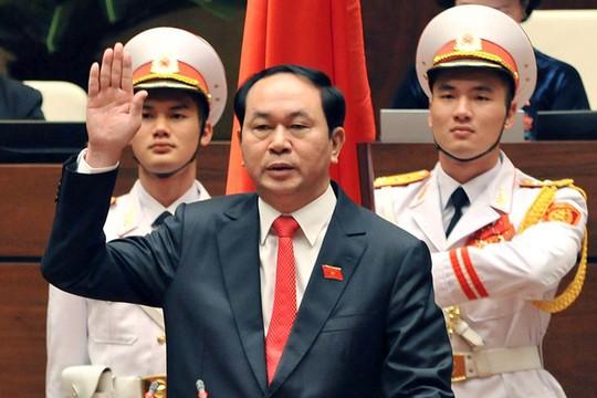 Chủ tịch nước Trần Đại Quang tuyên thệ ngày 2-4, thay thế người tiền nhiệm Trương Tấn Sang nhiệm kỳ 2011-2016