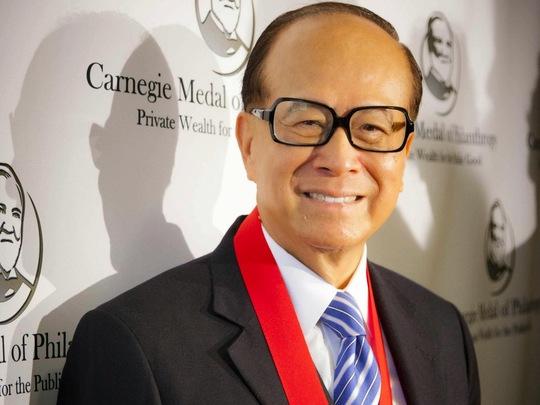 Ông Lý Gia Thành hiện có tổng tài sản 28,8 tỷ USD.
