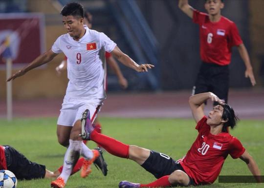 U19 Việt Nam dứt điểm quá kém trước đối thủ yếu như Singapore