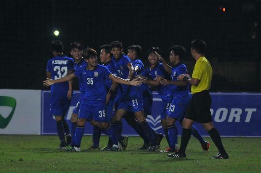 U19 Thái Lan lội ngược dòng ngoạn mục sau khi bị Indonesia dẫn trước 2-0