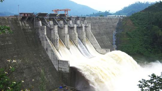 Một dự án thủy điện của Bitexco Power đang vận hành