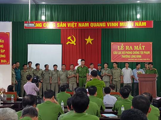 Lễ ra mắt CLB hiệp sĩ tại Biên Hòa (ảnh: TTV)