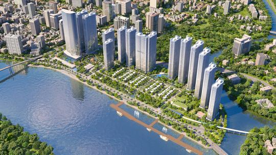 Nguồn cung mới từ dự án bên sông Sài Gòn sẽ có tác động nhất định đến thị trường căn hộ cao cấp cho thuê hiện nay tại Tp.HCM.
