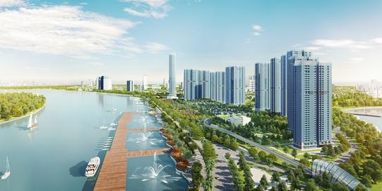 Phối cảnh dự án Vinhomes Golden River do Vingroup làm chủ đầu tư