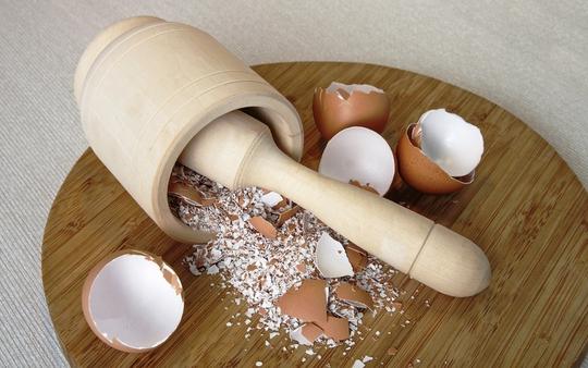 """""""Choáng"""" trước tác dụng thần kỳ từ vỏ trứng"""