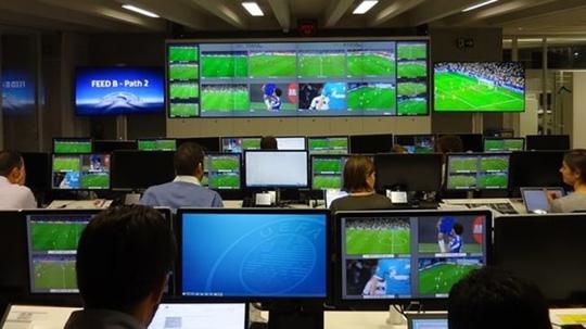 Bên trong trung tâm phát sóng IBC phục vụ Euro 2016. Ảnh: UEFA
