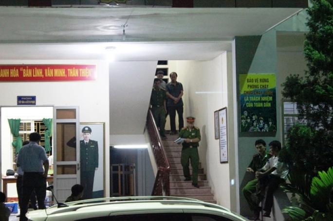 Cảnh bắt giữ Lê Đức Hải, nguyên Trạm trưởng Đội Kiểm lâm cơ động số 1 - Chi cục Kiểm lâm tỉnh Thanh Hóa