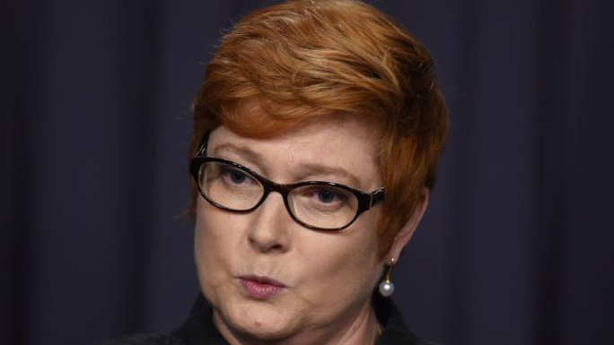 Bộ trưởng Quốc phòng Úc Marise Payne. Ảnh: Perthnow