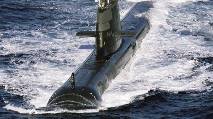 Tàu ngầm HMAS Sheean của Hải quân Hoàng gia Úc. Ảnh: The Australian.