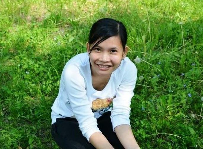 Chị Hồ Thị Duyên Thùy, người được cho là đang mất tích bí ẩn.