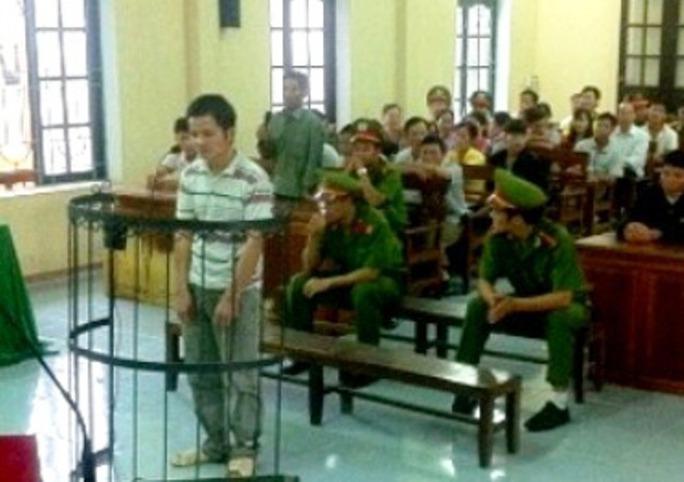 Bị cáo Hoàng Văn Hà tại phiên xét xử