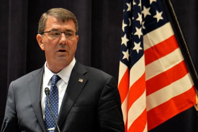 Bộ trưởng Quốc phòng Mỹ Ashton Carter. Ảnh: UPI