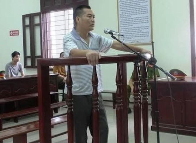 Ông Nguyễn Đức Tâm tại phiên xét xử sáng ngày 18-9