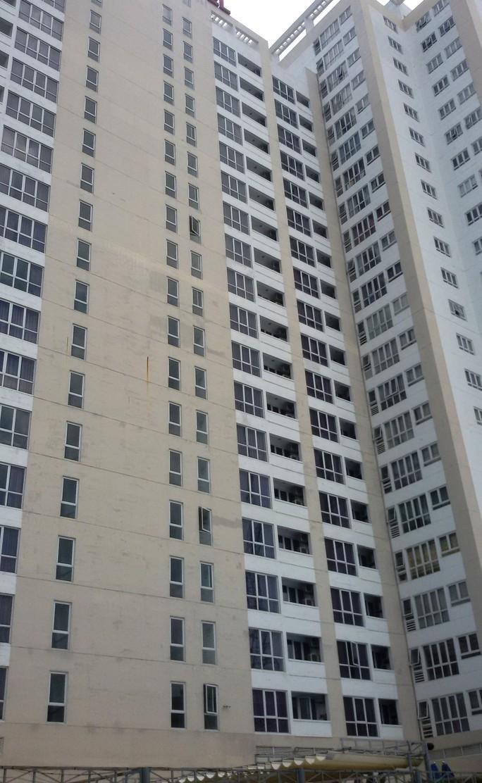 Nạn nhân nghi rơi từ tầng 19 của tòa nhà 29 tầng này