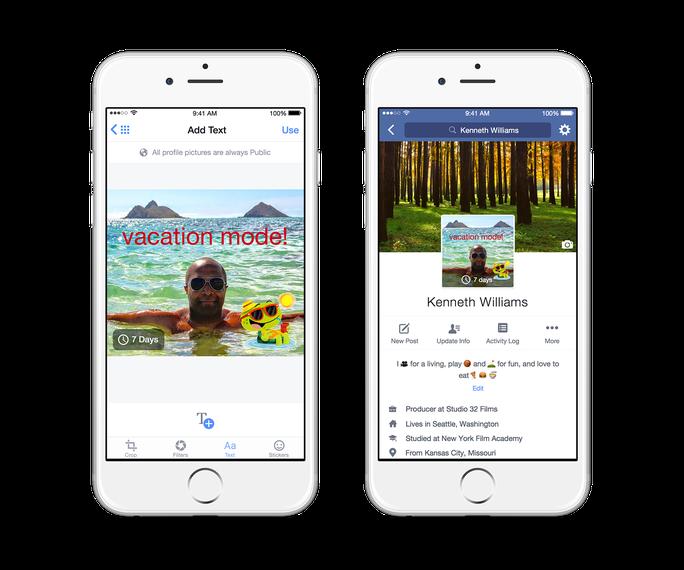 Facebook hỗ trợ làm ảnh avatar động