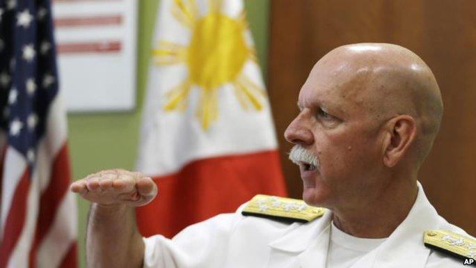 Đô đốc Scott Swift. Ảnh: AP
