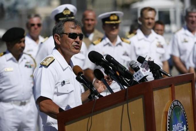 Đô đốc Harry Harris. Ảnh: Reuters