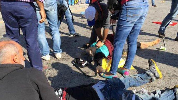 Ít nhất 20 người chết và hơn 100 người bị thương. Ảnh: Twitter