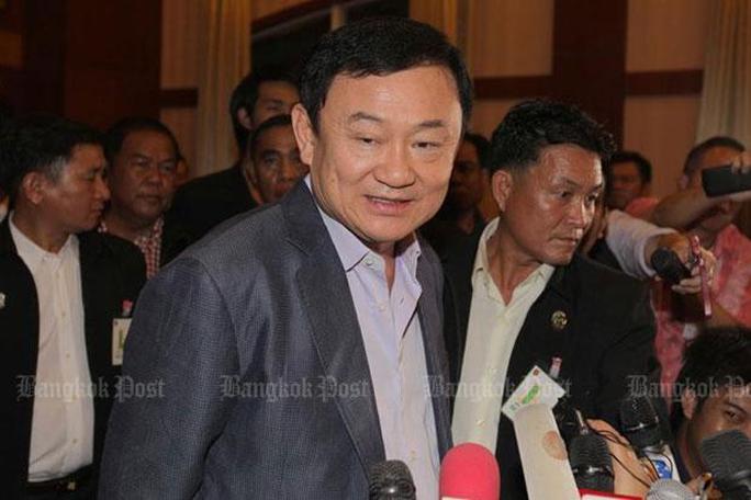 Cựu Thủ tướng Thaksin Shinawatra. Ảnh: The Bangkok Post