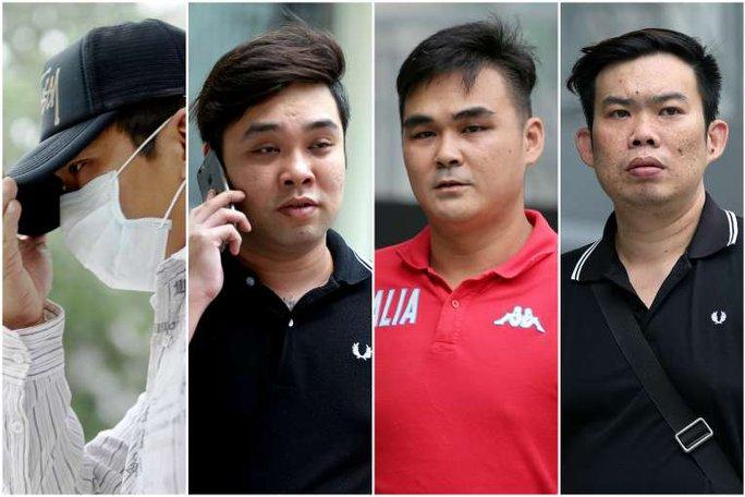 Từ trái qua: Koh Guan Seng, Kam Kok Keong, Lim Hong Ching, và Kelvin Lim Zhi Wei. Ảnh: Straits Times