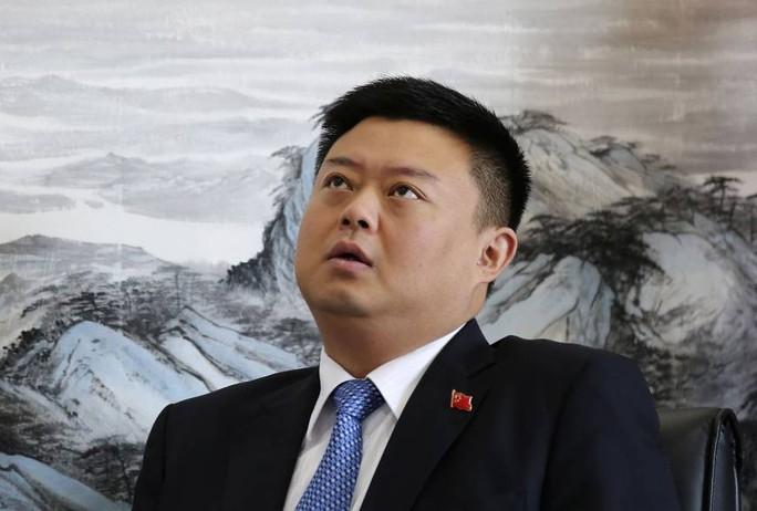 Ông Wang Jing, Chủ tịch và Giám đốc điều hành của HKND. Ảnh: Reuters