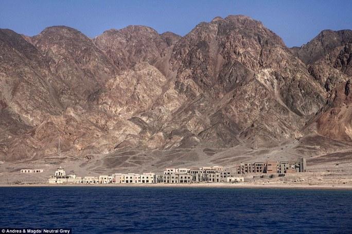Khu vực nằm trong Vịnh Aqaba
