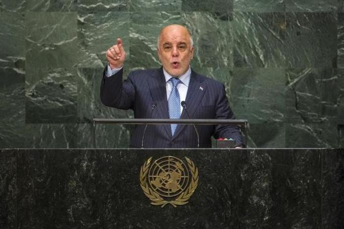 Thủ tướng Iraq Haider al-Abadi. Ảnh: Reuters