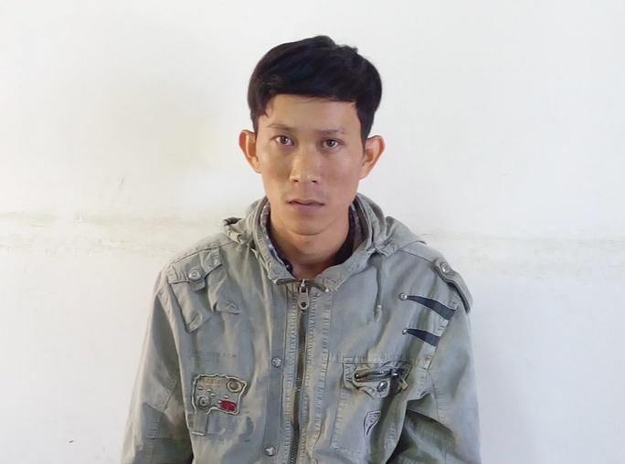 Huỳnh Thanh Điền tại cơ quan điều tra (ảnh do cơ quan chức năng cung cấp)